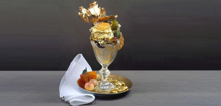 Foto: Așa arată cea mai scumpă înghețată din lume