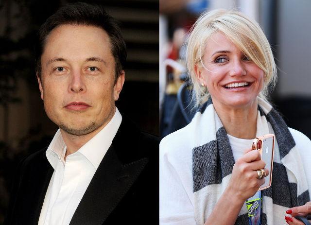 Cameron Diaz şi Elon Musk