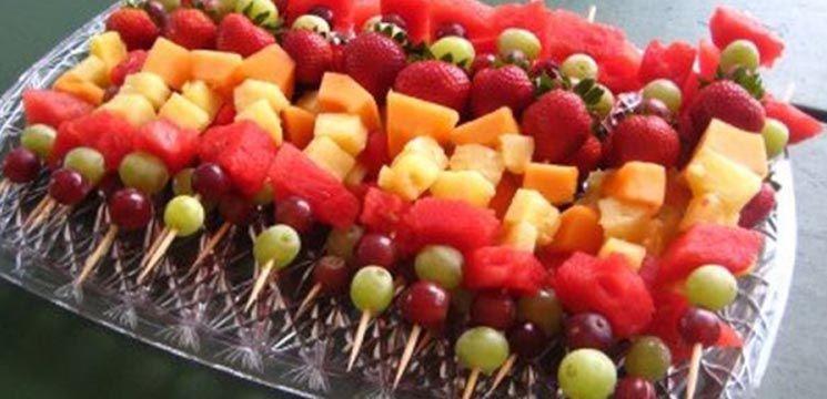 Fructele la grătar - desertul perfect pentru vară