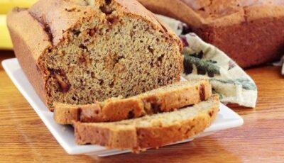 Pâinea cu banane și nuci