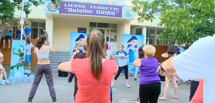 Sănătate și mișcare împreună cu Karizma și Cristina Croitoru!