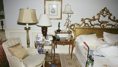 Șocant! Imagini din dormitorul lui Michael!