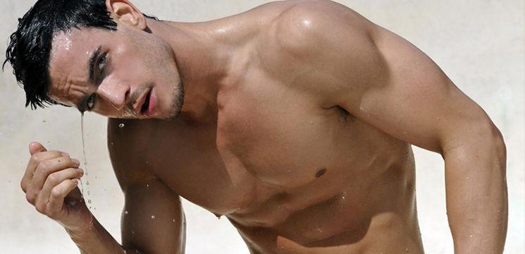 фото парни голи