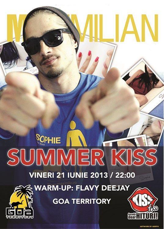 Maximilian la cea de-a 3-a ediţie Summer Kiss