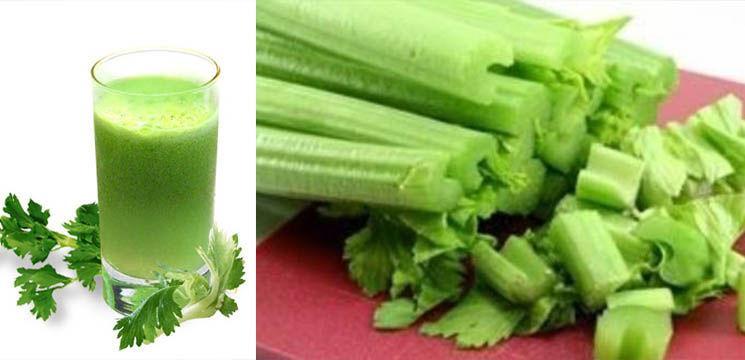 Sucul de țelină reduce constipația și scade aciditatea din organism!