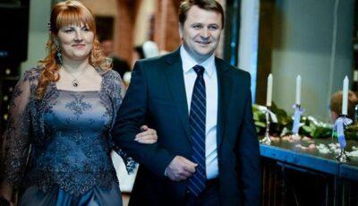 """Soții Palihovici, poveste de iubire demnă de urmat. Love story prezentată de revista """"Nunta by Aura""""."""