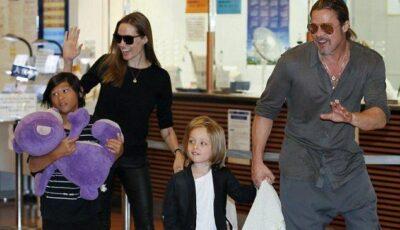 Angelina Jolie a primit un cadou costisitor de la Brad Pitt!