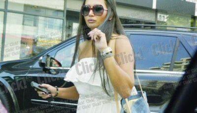 Vezi cât de bine arată graviduța Elena Băsescu