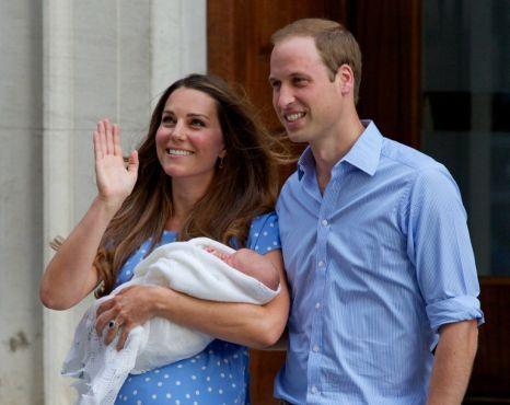Foto: A fost anunțat numele bebeluşului regal
