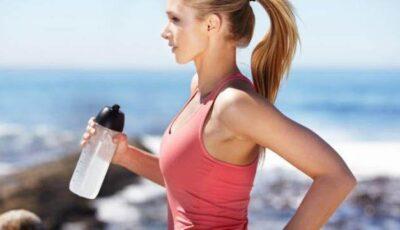Exerciții cu sticla de apă!