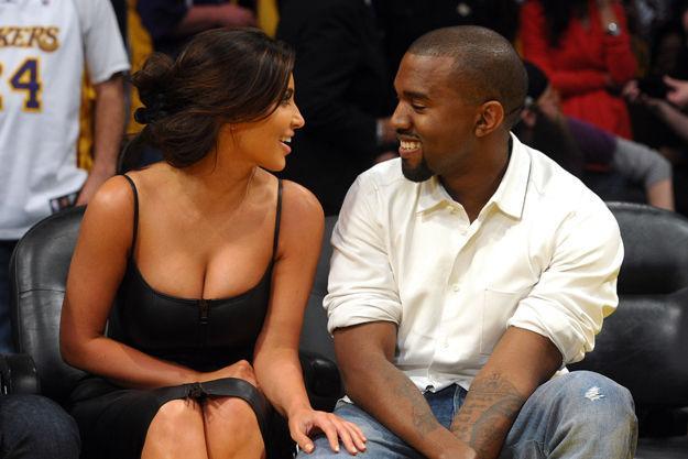Kanye West şi Kim Kardashian fac nuntă! Vezi unde