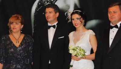 Poze de la nunta lui Nicu Țărnă. Invitați, daruri și look-uri