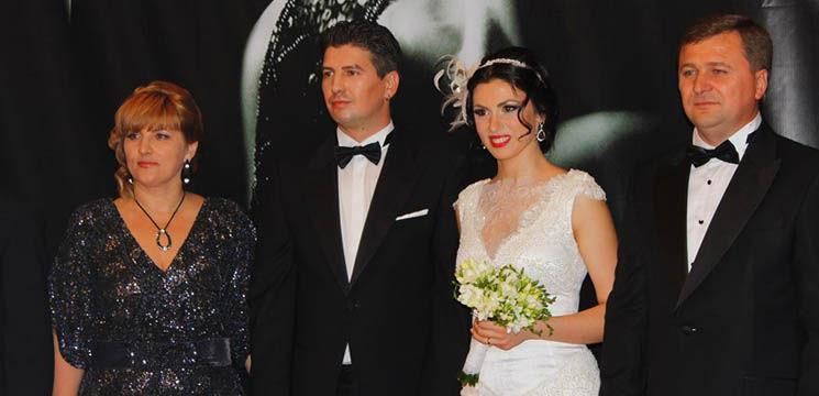 Foto: Poze de la nunta lui Nicu Țărnă. Invitați, daruri și look-uri