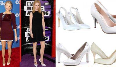 Vedetele poartă pantofi albi!
