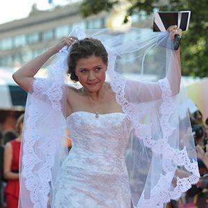 Maria Golubkina și-a inventat propria nuntă