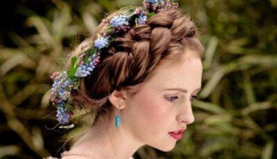 Coronița din flori – cea care emană eleganță și naturalețe unei mirese!