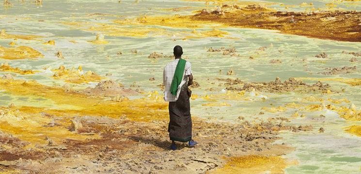 Foto: Deşertul Danakil – cel mai nemilos loc de pe Pământ!