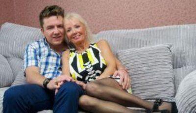 La 67 ani s-a căsătorit cu un tânăr de 29 de ani, după ce și-a pus silicoane