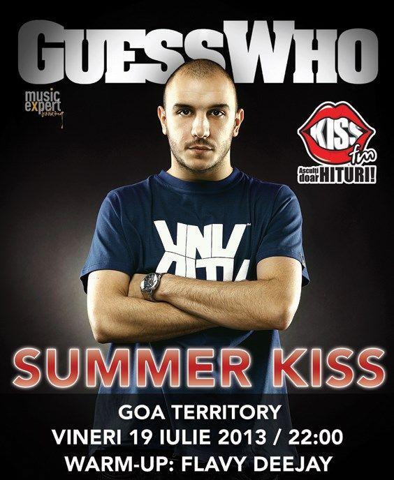 Locul potrivit este la Summer Kiss pe 19 iulie!