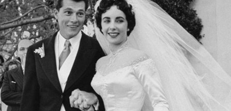 Foto: Cât valorează prima rochie de mireasă a lui Elizabeth Taylor?