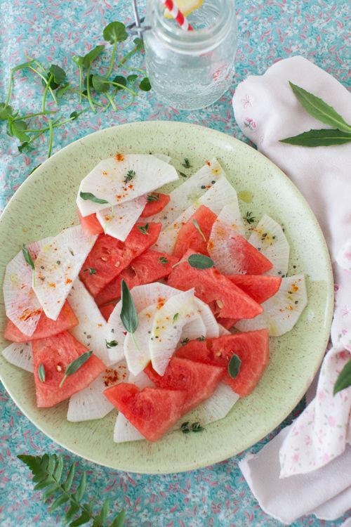 salata cu ridichii