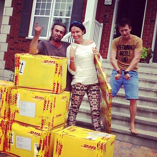 Nata Albot a trecut la casă nouă, în Montreal!