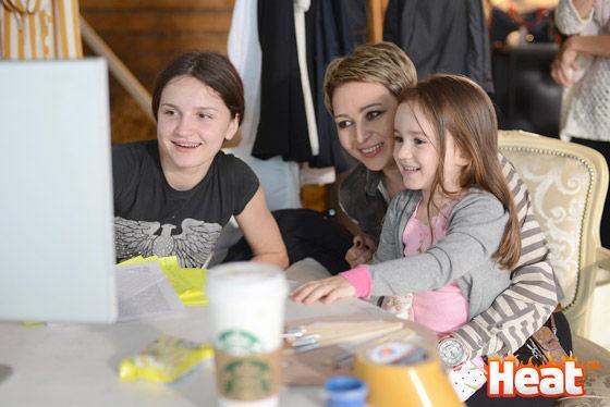 Katya Lel și-a arătat fiica! Foto