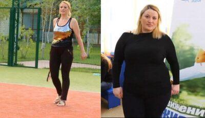 A slăbit 40, 5 kg! Care sunt secretele Angelei Simion?!
