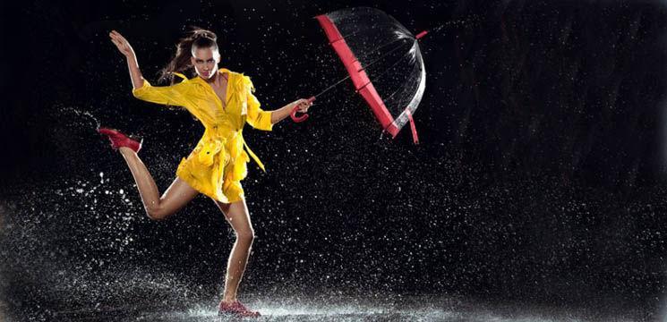 Cum te îmbraci când plouă?