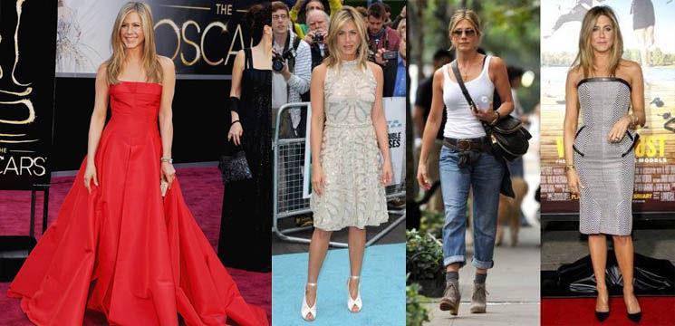 Jennifer Aniston, un exemplu de stil!