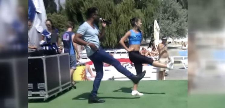 Foto: Lexter și Irina au încins atmosfera la GOA Territory! Video