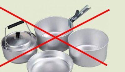 Scapă de vasele din aluminiu!