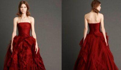 Vezi cum arată rochiile de mireasă colorate!