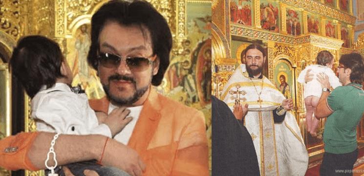 Poze de la botezul fiului lui Kirkorov!