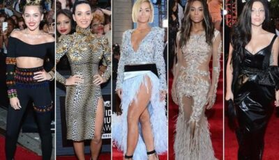 Surprize vestimentare pe covorul roșu la MTV VMA 2013!