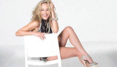 Sharon Stone se menține în formă dansând!