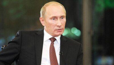 Clip anti-Putin difuzat de o televiziune privată