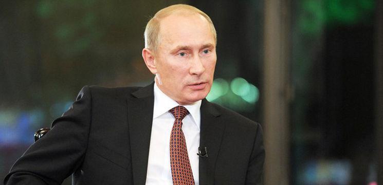 Foto: Clip anti-Putin difuzat de o televiziune privată