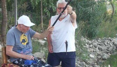 Exclusiv: Gheorghe Urschi a ieșit, din nou, la pescuit!