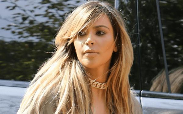 Kim Kardashian a slăbit 14 kilograme și s-a făcut blondă!