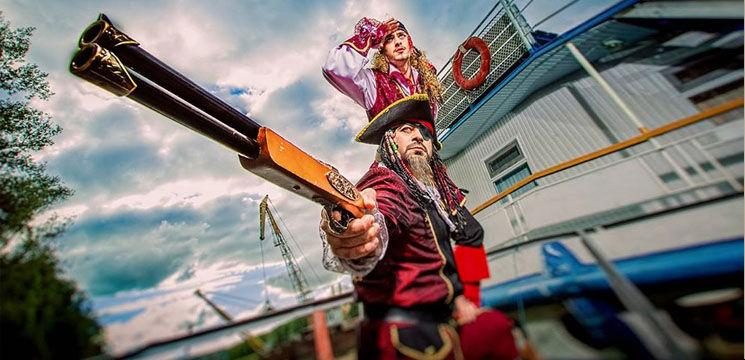 Mihai și Cristi Budurin, pirați de Moldova!