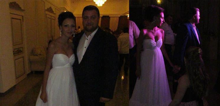 Poze de la nunta lui Valy Boghean