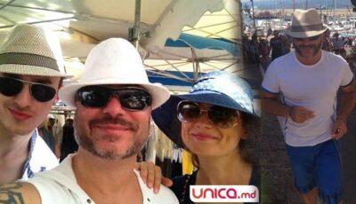 Poze exclusive cu Mihai Budurin și familia în Saint Tropez!