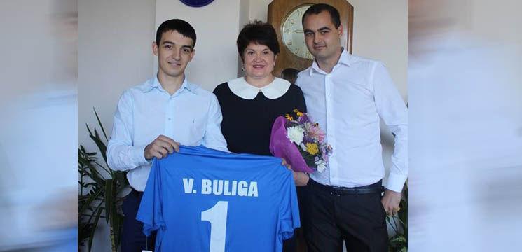 Valentina Buliga a primit un tricou de ziua ei!