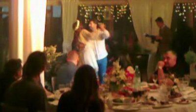 Video: Primul dans al mirelui Adrian Ursu și a miresei Irina Negară!