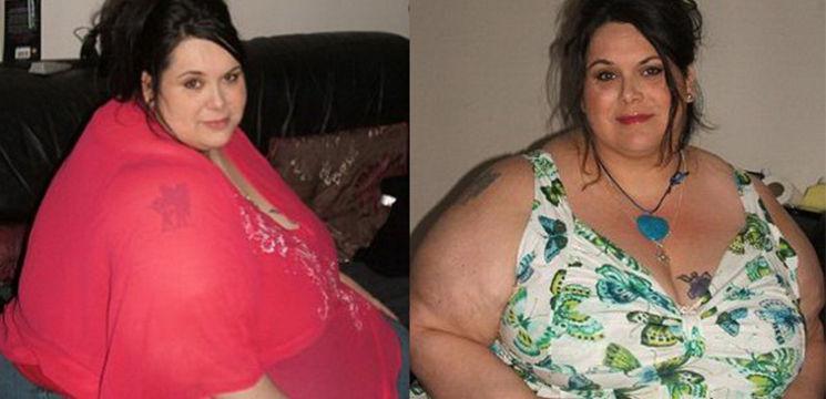 Povestea femeii care a slăbit 196 kg