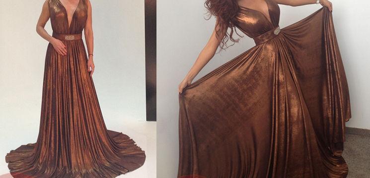 Două vedete au îmbrăcat aceeași rochie