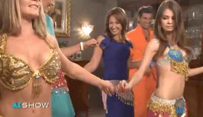 Sanda Filat dansează Gangnam Style
