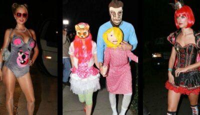 Ce costume au ales vedetele pentru Halloween!