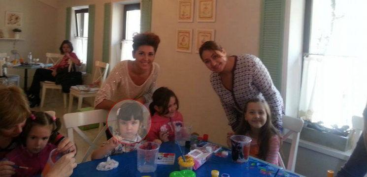 Tania Cergă alături de fiica sa,  Izel, s-au pregătit de Halloween!